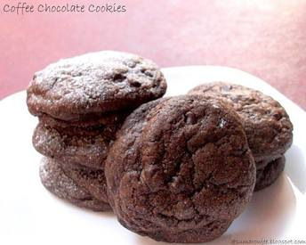 Chocolate Coffee Cookies!
