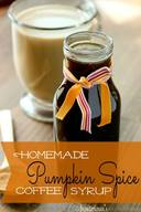 Pumpkin Spice Coffee Syrup!