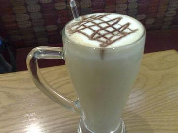 White Chocolate Dream Latte!