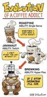 History Of A Caffeine Addict!