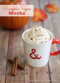 Pumpkin Spice Mocha!