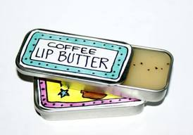 Homemade Coffee Lip Butter!