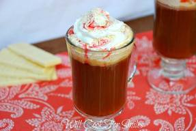 White Chocolate Raspberry Dessert Coffee!