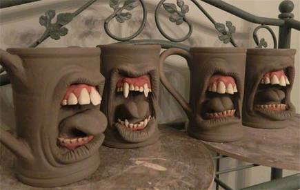 Scary Coffee Mugs!