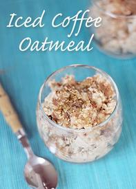 Iced Coffee Oatmeal!