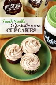 French Vanilla Coffee Buttercream Cupcakes!