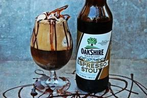 Coffee Stout Ice Cream Float!
