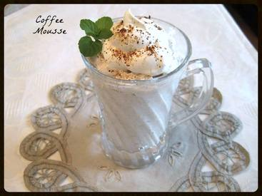 Coffee Mousse!