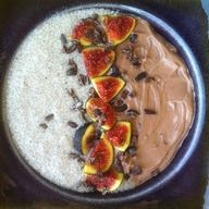 Fig & Coffee Chia Pudding!