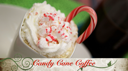 Candy Cane Coffee!