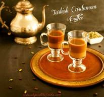 Turkish Cardamon Coffee!