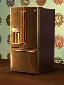 The World's First Refrigerator With Built In Coffee Maker!