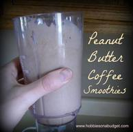 Peanut Butter Coffee Smoothies!