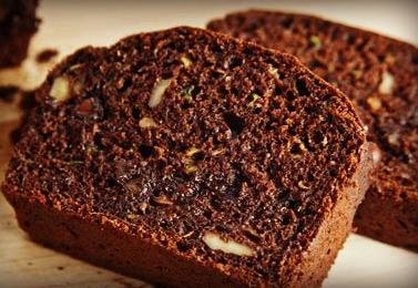 Chocolate Coffee Zucchini Bread!