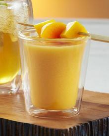 Frozen Peach Cobbler Tea