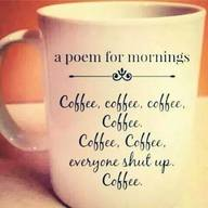 A Poem For Mornings!