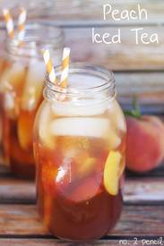 Peach Iced Tea!