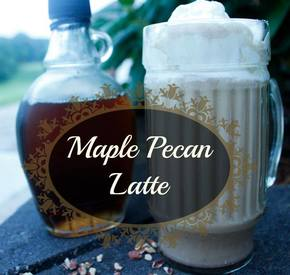 Maple Pecan Latte!