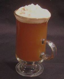 Hot Caramel Coffee Cider!
