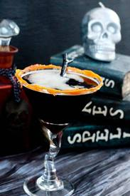 Candy Corn Coffee Martini!