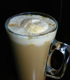 Vanilla Coffee White Hot Chocolate!