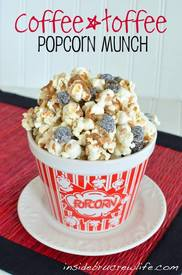 Coffee Toffee Popcorn Munch!