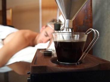 Caffeine Alarm Clock!