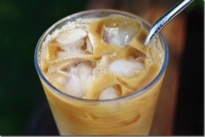 Peanut Butter Iced Coffee!