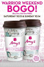 Caribou Coffee Buy One Get One Free This Weekend