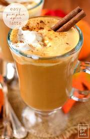 Easy Pumpkin Spice Latte!!