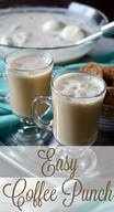 Easy Coffee Punch!