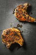 Coffee Molasses Pork Chops!