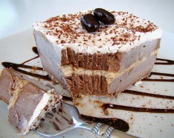 Frozen Cappuccino Bars!