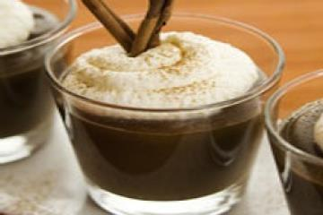 Mexican Coffee Pudding