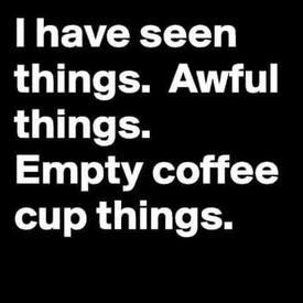 Caffeine Calms Me!