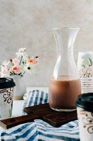 Chunky Monkey Coffee Creamer!