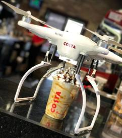 Introducing The Coffee Copter!
