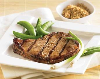Coffee Marinated Grilled Pork Chops!