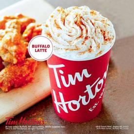 Tim Horton's Launches Buffalo Latte!