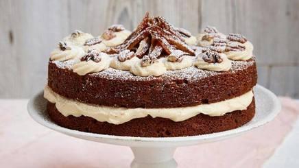 Coffee Pecan & Date Cake!