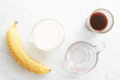 Banana Milk Coffee!