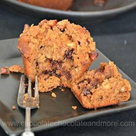 Easy Espresso Chocolate Chip Muffins!