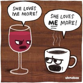 Caffeine Or Wine?