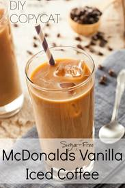 Copycat Mcdonald's Iced Coffee!