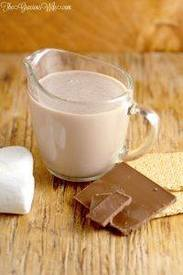 Homemade S'mores Coffee Creamer!