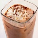 Iced Chocolate Latte!