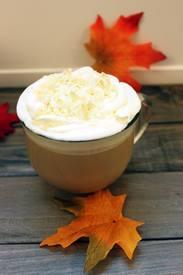 White Chocolate Vanilla Mocha!