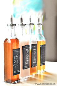 Homemade Flavored Coffee Syrups!