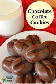Chocolate Coffee Cookies!