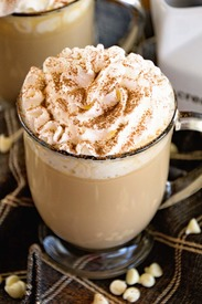 White Chocolate Latte!